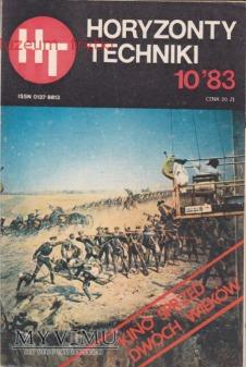Duże zdjęcie HORYZONTY TECHNIKI 1983 r. nr.10