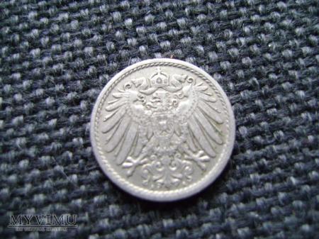 5 pfennigów 1914