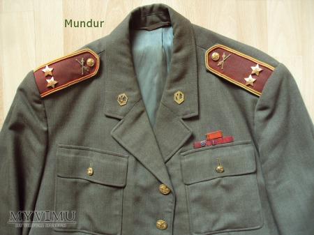 Czechosłowacki mundur - podpułkownik
