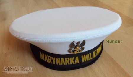 Czapka garnizonowa marynarska wz.97 wz.408A/MON