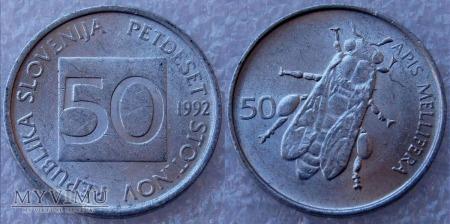 Słowenia, 50 Stotinov 1992