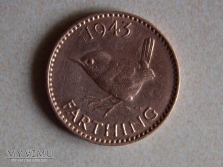 FARTHING 1943- 1/4 PENSA ( 1937-1948 )