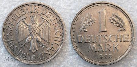Niemcy, 1990, 1 DEUTSCHE MARK
