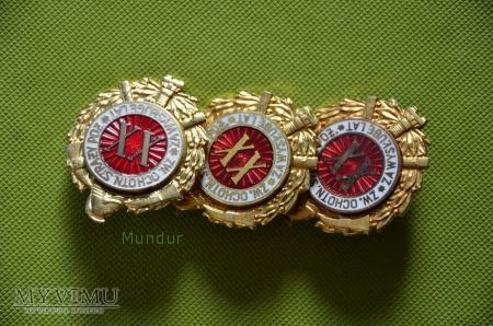 """Odznaka """"Za wysługę lat XX"""""""