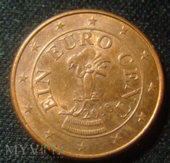 1 cent Austria 2010