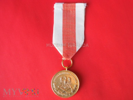 Medal Za Zasługi dla Pożarnictwa - złoty