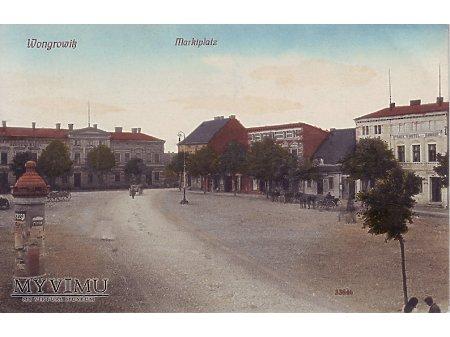 Wągrowiec - Rynek
