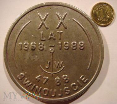 XX LAT 1968 -1988 JW 4788 ŚWINOUJŚCIE