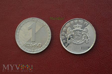 Duże zdjęcie Moneta gruzińska: 1 lari