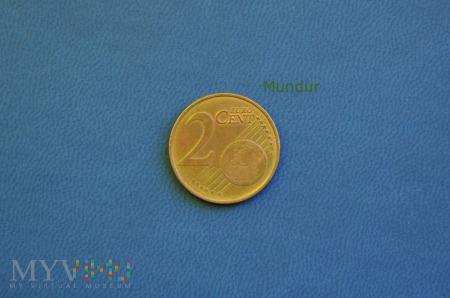 Moneta: 2 euro cent - Belgia