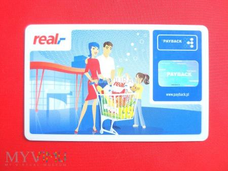 Duże zdjęcie Karta lojalnościowa Real (2)