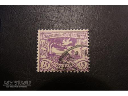 znaczki śląskie plebiscytowe
