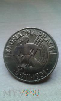odznaka za ofiarną pracę