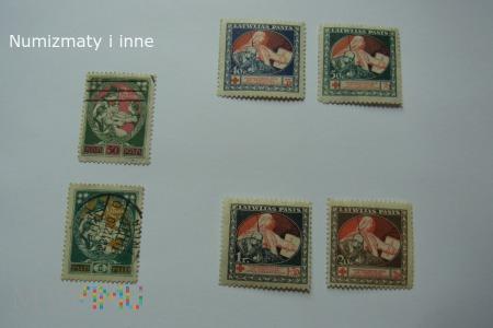 znaczki pocztowe na banknotach ?