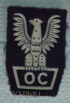 OC Obrona Cywilna - orzełek