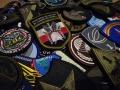 Kolekcja naszywek wojskowych
