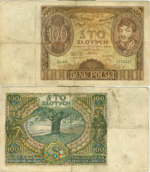 100 zł 1932r.