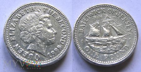 Jersey, 1 pound 1998