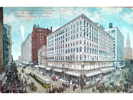1909 Chicago Dom Towarowy MANDEL BROTHERS