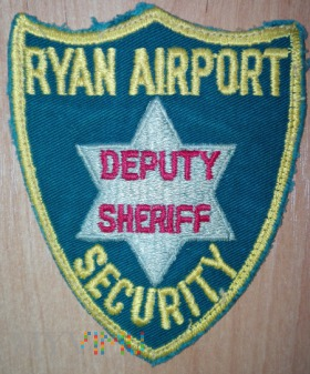 Ryan sheriff airport security
