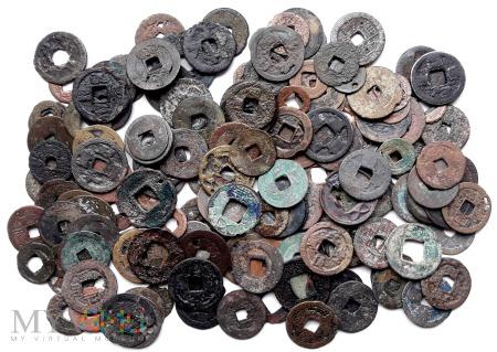 NA WYMIANĘ: monety chińskie