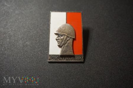 Wzorowy Marynarz I Klasy wzór z 1958 r. - zbój