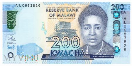 Malawi - 200 kwacha (2016)