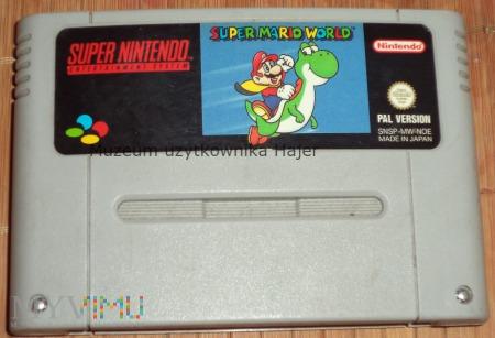 Super Mario World - kartridż SNES Nintendo