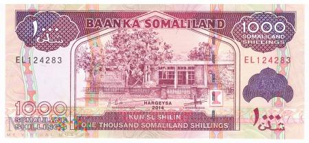 Somalia (Somaliland) - 1 000 szylingów (2014)