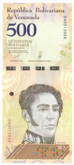 Wenezuela - 500 boliwarów (2018)