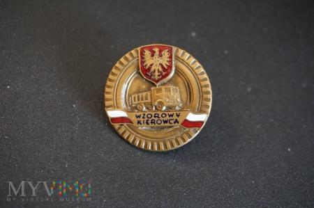 Odznaka honorowa - Wzorowy Kierowca Nr:5078