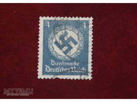 III Rzesza. 4 Dienstmarke.