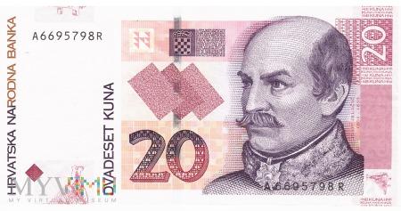 Chorwacja - 20 kun (2001)