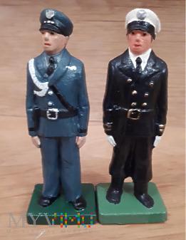 Duże zdjęcie Kapitan Lotnictwa i porucznik marynarki wojennej