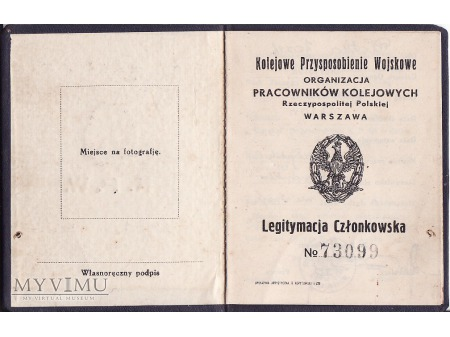 Legit.Kol.Przysp.Wojsk. z 1935.