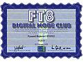 Zobacz kolekcję Dyplomy - FT8DMC