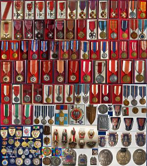 Odznaczenia/odznaki/PRL