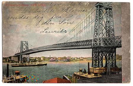 Duże zdjęcie Williamsburg Bridge.1907.a