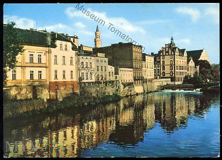 Opole - Nad kanałem Młynówka - 1973