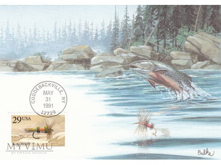USA 1991 - pocztówki Don Balke