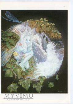 Lorien - Elf przy źródle