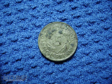5 pfennig 1925
