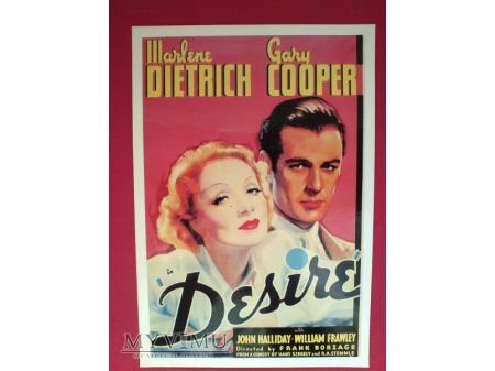 Marlene Dietrich Gary Cooper film DESIRE ( Pokusa)