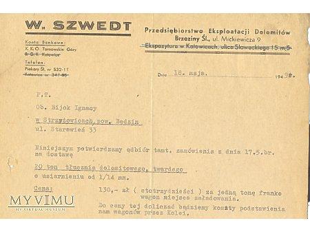 W.Szwedt-Przed.Ekploatacji Dolomitów