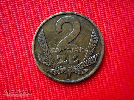 2 złote 1977 rok