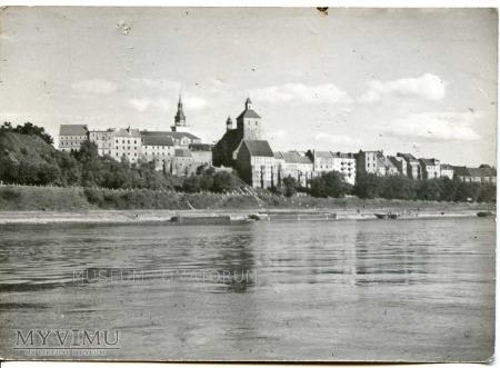 Grudziądz - Widok od Wisły pół wieku później 1960
