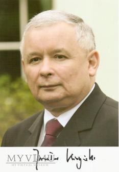 Autograf od Jarosława Kaczyńskiego