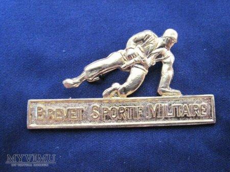 Odznaka BREVET MILITAIRE SPORTIF-złoto