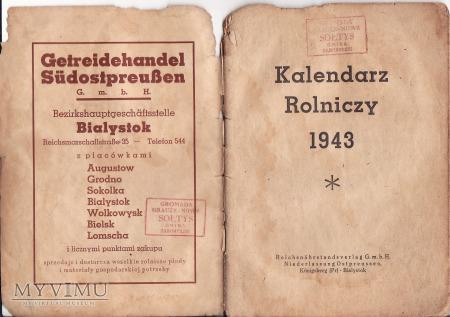 Kalendarz Rolniczy 1943.