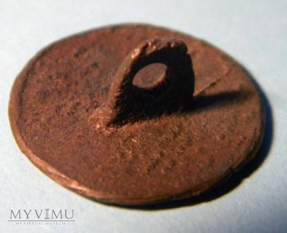 guzik, brąz arsenowy/pewter, motyw